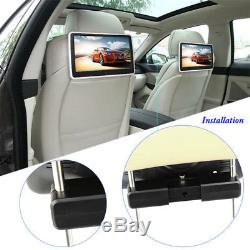 10.1 Auto Car Headrest DVD Game Video Player with Remote Control Universal