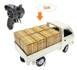 110 Remote Control Lorry Truck Suzuki D12 Carry Van RC Car Hobby Rechargeable