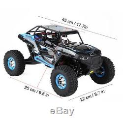 110 WLtoys RC Truck Rock Crawler 4WD Military Truck Remote Control Car Ho