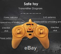 114 New RC Truck Car Metal Bulldozer Toys Gift Kids Remote Control 2.4G 6CH
