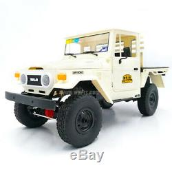 116 4WD Buggy RC Car Metal Chassis Remote Control Truck Kids Toys WPL C44KM