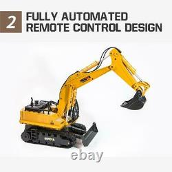 116 Remote Control RC Truck Caterpillar Alloy Tractor Car Bulldozer Toy For Kid