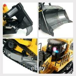 116 Remote Control Truck Rc 8ch Bulldozer Machine On Control Car Toys For Kids