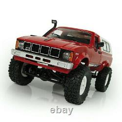 116 WPL C-24 2.4G Remote RC Crawler Car 4WD Truck Off-road Military Climbing