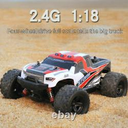 118 4WD 2.4G High-Speed Off-road Buggy Remote Control Climbing Truck RC Car Toy
