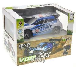 118 RC 2.4Gh 4WD Remote Control Rally Race Car Blue High Quality Sport 28mph NW