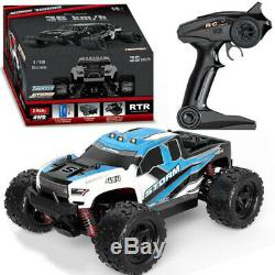 118 RC Car 40+MPH 2.4G Auto High Speed Racing Remote Control Large Truck Buggy