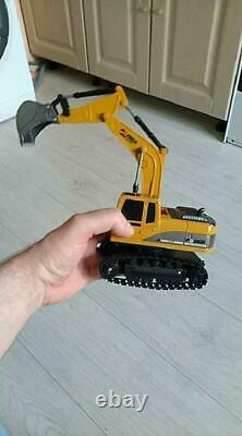 124 Remote Control Truck Excavator Construction Digger Vehicles Tractor Toy