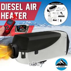 12V 2KW Air Diesel Heater LCD Thermostat Remote For Car Trucks Boat Trailers Bus