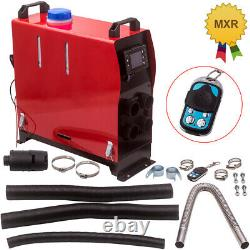 12V 5000W LCD Remote Air Diesel Heater 2KW-5KW for Car Truck MotorHomes 4 Holes