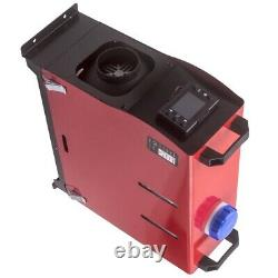 12V 5000W LCD Remote Air Diesel Heater 2KW-5KW for Car Trucks Bus Silencers