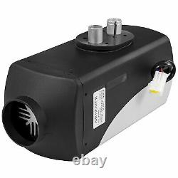 12V 5KW Air Diesel Heater Remote With Silencer 10L Tank For Trucks Boat Car Easy