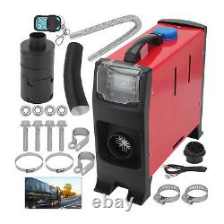 12V 5KW Air Diesel Night Heater LCD Monitor Remote Trucks Boats Car home
