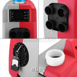 12V 5KW Car Air Diesel Parking Heater LCD 4 Holes For Trucks Boats Bus + Remote