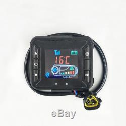 12V 5KW Diesel Air Heater LCD Monitor Remote Switch Car Trucks Boats Motor-Homes