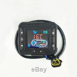 12V 5KW Diesel Fuel Air Heater LCD Switch Car Truck Heating + Remote `