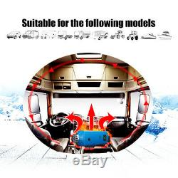 12V 8000W Diesel Air Heater LCD Switch+Remote Control Silencer for Car RV Truck
