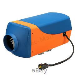 12V 8KW 8000W Air Diesel Heater Gold LCD Thermostat Remote For Car Truck Boat