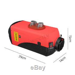12V 8KW Air Diesel Heater LCD Switch Remote 8000W For Trucks Car Boat Trailers