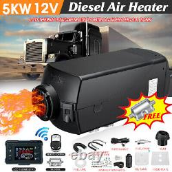 12V 8KW Diesel Air Heater 10L Tank LCD Thermostat For Truck Boat Car Bus &L