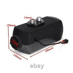 12V 8KW Diesel Air Heater LCD Thermostat Quiet with Remote Control Car Boat Truck