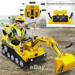 12V Electric Battery Kids Ride on Truck Car Toy MP3 USB Remote Control with3 Speed