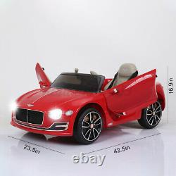 12V Electric Kids Ride On Car Truck Toy Remote Control LED MP3 For Bentley exp12