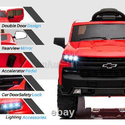12V Safety Kids Electric Ride On Car Truck Toy 4 Wheels Music LED Remote Control