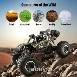 18/112/116 RC Monster Truck 4WD Off-Road Vehicle Remote Buggy Crawler Car Toy