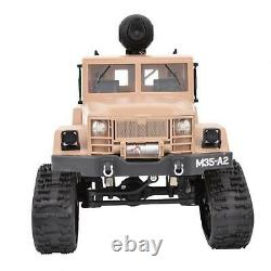2.4G 1/16 RC Military Truck Remote Control Car Model Toy Vehicle (Camera Type)