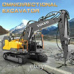 2.4G Remote Control Construction Toy Excavator Navvy Engineering Truck Model