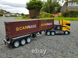 2.4GZ Europe Container Felixstowe Lorry Truck 44cmL Radio Remote Control Car