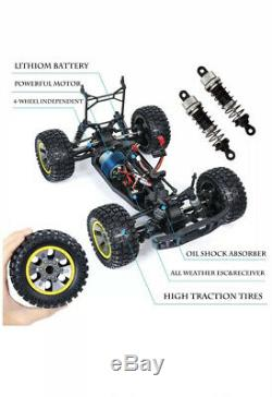 2.4Ghz RC Remote Control 110 Off-Road 4WD Monster Car Truck 48km/h, 2 Batteries
