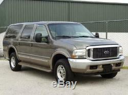 2002 Ford Excursion Limited 4X4 4WD 7.3L TURBO DIESEL REMOTE START
