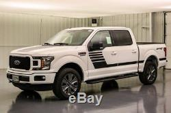 2018 Ford F-150 XLT 4X4 5.0 V8 10 SPEED AUTOMATIC 4WD SHORT BED CREW CAB