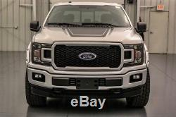 2018 Ford F-150 XLT 4X4 5.0 V8 10 SPEED AUTOMATIC SHORT BED 4WD CREW CAB TRUCK
