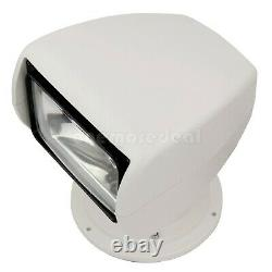 2500Lm Search Light Spotlight for Boat Truck Car 12V 100W with Oval Remote Control