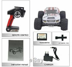 4WD 1/18 High Speed Monster Truck RC Car 70km/h With Battery RTR Remote Control