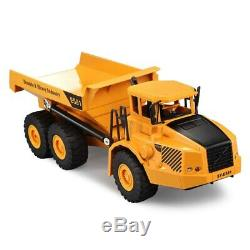 4WD RC Car 2.4G 6ch Dump Truck Engineering Construction Loading Dump Remote Cont