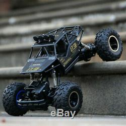 4WD RC Monster Truck Off-Road Vehicle 2.4G Remote Control Buggy Crawler Car