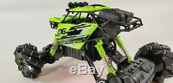 4WD RC Monster Truck Off-Road Vehicle 2.4G Remote Control Buggy Crawler Car UK