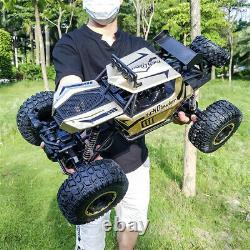 4WD RC Monster Truck Off-Road Vehicle 2.4G Remote Control Crawler Car Child Gift