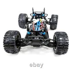 4WD RC Monster Truck Off-Road Vehicle 2.4G Remote Control Crawler Car Yellow New