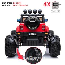 4x4 Off-Road Big Foot Kids Ride On Truck with Remote Control, MP3, LED Lights