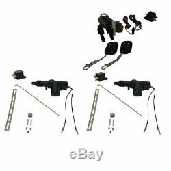 5 Functions Remote Shaved Door Popper Kit with Actuators muscle car truck car V8