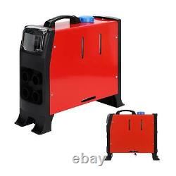 5KW 12V Air Diesel Night Heater 4 Holes LCD Monitor Remote Trucks Boats Car home