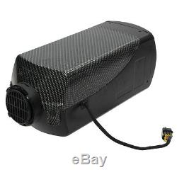 5KW 12V Diesel Air Heater LCD Switch Remote Fuel Tank For Truck Boat Car new