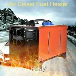 5KW 12V Diesel Air Heater Parking LCD Remote For Car Truck Camper Boats Trailer