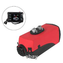 5KW 24V Air Diesel Heater Remote LCD Monitor for Car Truck Motor Boat Silencer