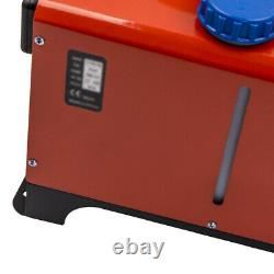5KW-8KW 12V Diesel Air Heater LCD Thermostat Remote Control Truck Bus Motorhome